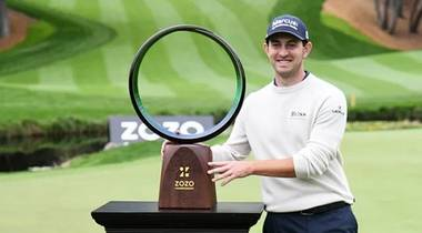 Patrick Cantlay The ZOZO Championship @ Sherwood 2020